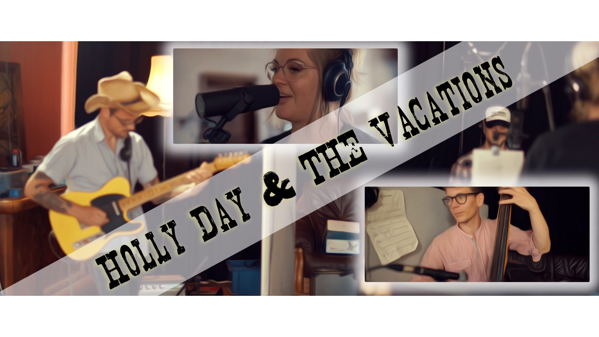 "Musikvideo der Leipziger Band ""Holly Day & The Vacations"""